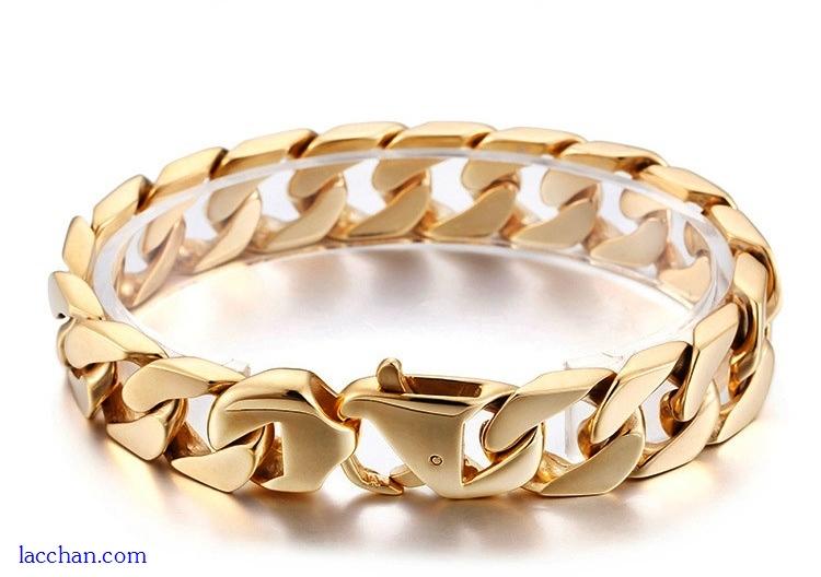 Lắc tay mạ vàng 18k nam-06