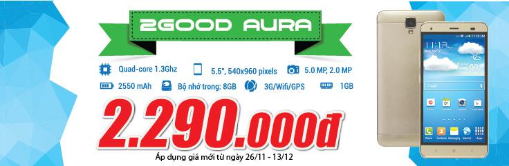 Điện thoại 2GOOD Aura