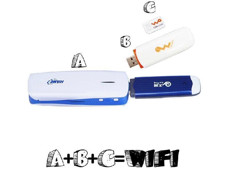 Bộ phát Wifi 4 in 1