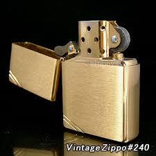 zippo vàng nhám