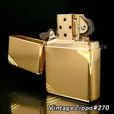 zippo vàng góc