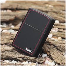zippo đen