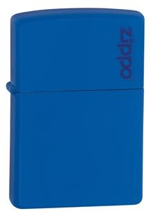 zippo xanh dương