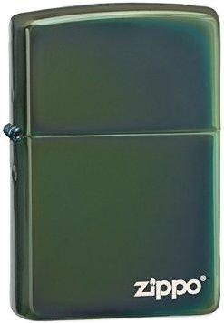 zippo xanh lá