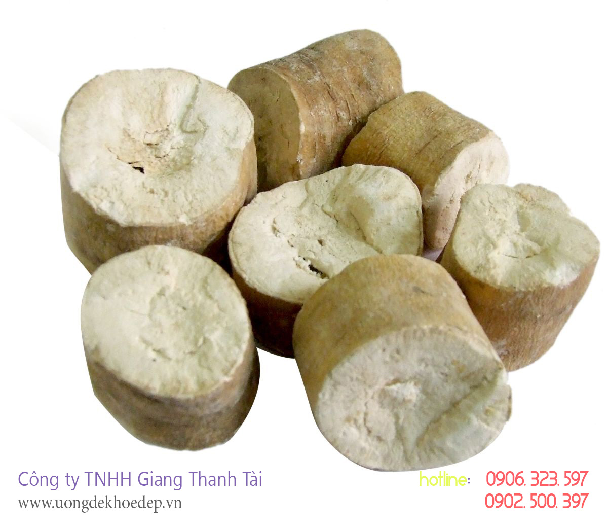 bán bột sắn dây