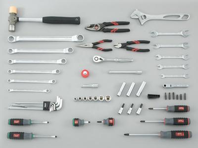 Bộ dụng cụ KTC SK3550W, bộ dụng cụ 55 chi tiết, KTC SK3550W