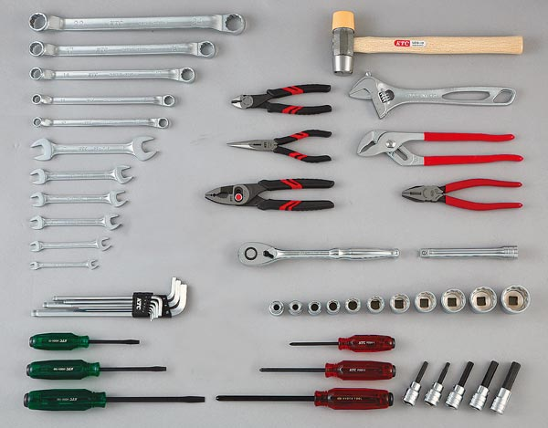 Bộ dụng cụ sửa chữa đa năng, bộ dụng cụ cơ khí, KTC SK4518WM