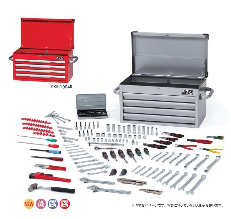 Bộ dụng cụ SK8100A, SK8100A KTC, bộ dụng cụ 140 chi tiết, bộ dụng cụ cao cấp