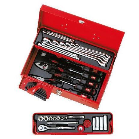 Bộ dụng cụ xách tay, bộ dụng cụ di động, SK3434S, KTC SK3434S, bộ dụng cụ gia đình