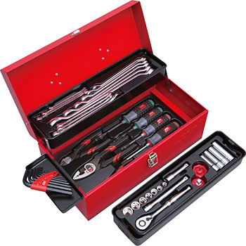 Bộ dụng cụ SK3434S KTC, bộ dụng cụ cầm tay KTC 43 chi tiết, SK3434S KTC