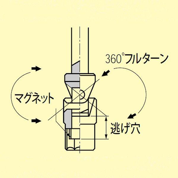 Đầu lắc léo THF2-14, KTC THF2-14, tay vặn chữ T cỡ 14mm