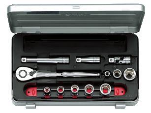 Bộ đầu khẩu KTC TB308, KTC TB308, bộ đầu khẩu 3/8 inch