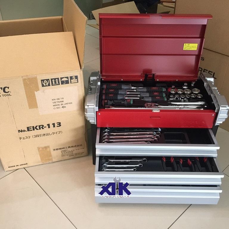 Bộ dụng cụ đa năng, KTC SK4580EZ, bộ dụng cụ 59 chi tiết, bộ dụng cụ Nhật