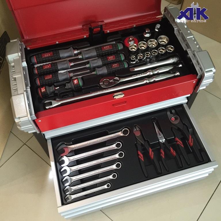 Bộ dụng cụ đa năng, KTC SK4580EZ, bộ dụng cụ nhập khẩu, bộ đồ nghề
