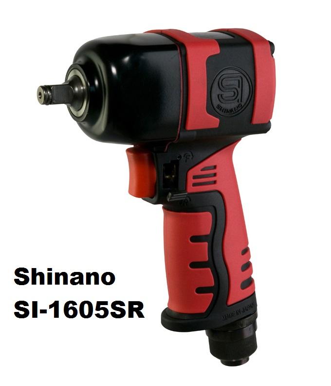 Súng vặn ốc 3/8 inch, Shinano SI-1605SR, súng xiết bu lông 3/8 inch