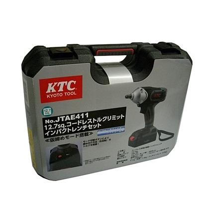 Bộ súng điện, KTC JTAE411, súng dùng pin KTC Nhật, súng dùng pin Nhật bản