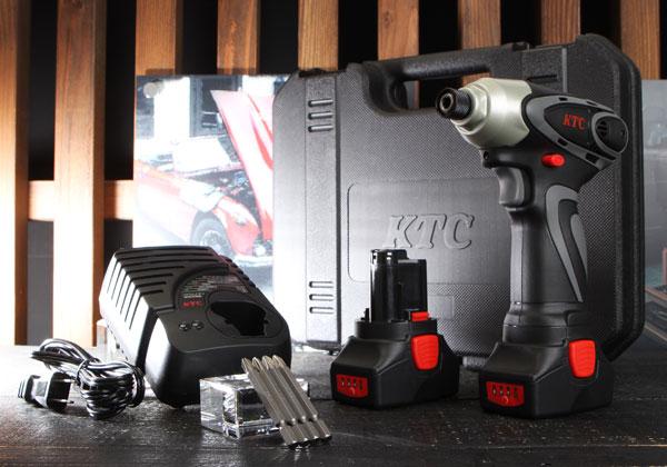 Súng điện, súng vặn vít dùng pin, KTC JTAE115, súng vặn vít nhập khẩu, cung cấp súng vặn vít chạy pin của Nhật