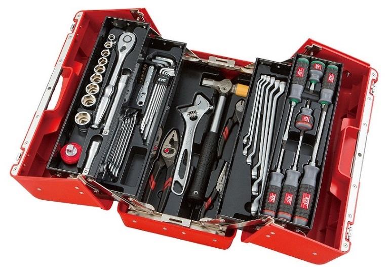 Bộ dụng cụ KTC SK4526P, bộ dụng cụ với hộp SK330P-M