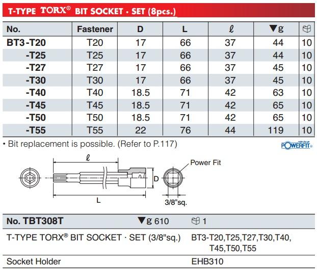Đầu bits sao 6 cạnh, BT3-T25, BT3-T40, đầu bits sao 6 cạnh,