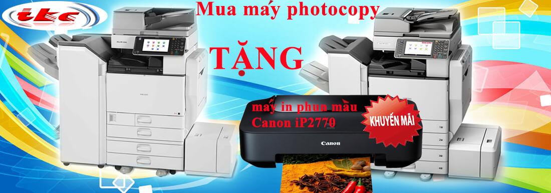 KM tặng máy in màu khi mua máy photo