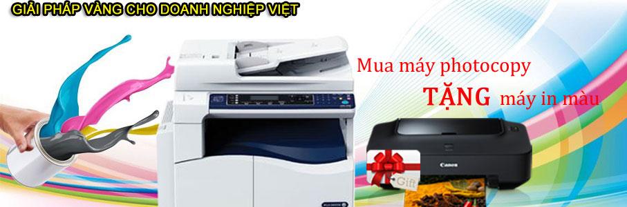 Khuyế mại mua máy photocopy
