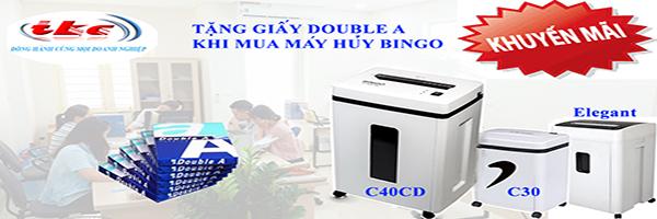 KM máy huỷ giấy