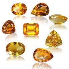 đá topaz vàng