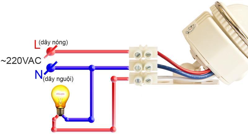 Cảm biến hồng ngoại bật tắt đèn FS02B