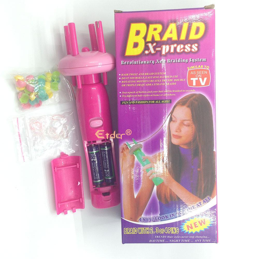 máy bện tóc tự động