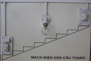 Đèn cầu thang thông minh cảm biến tự động