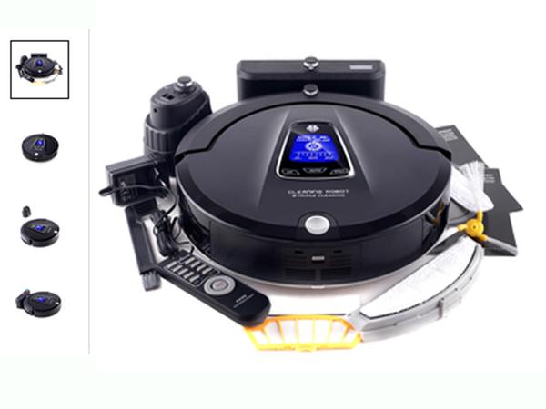 robot lau quét nhà tự động sạc