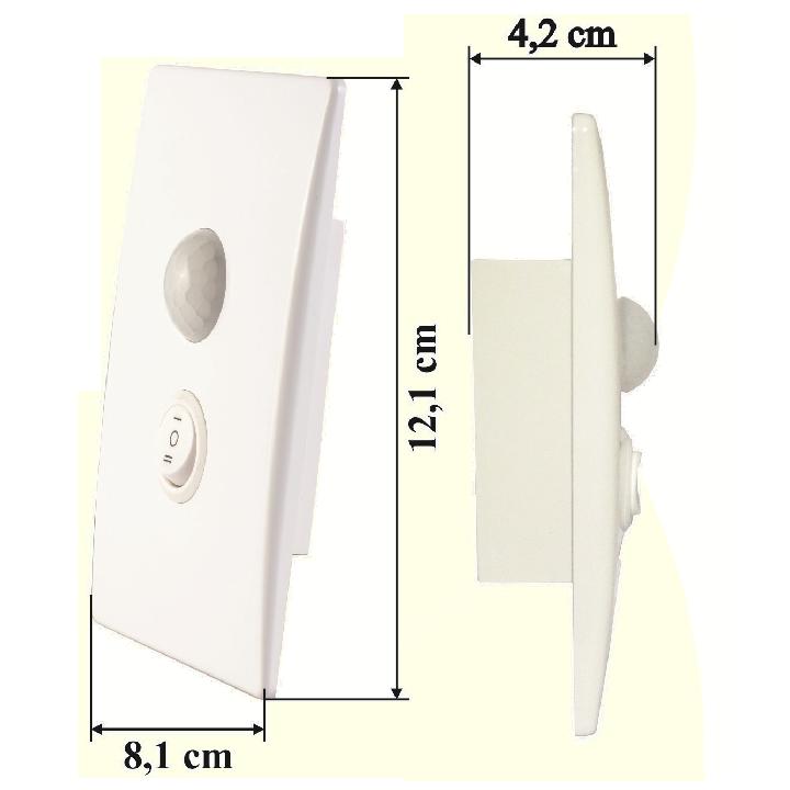 Công tắc cảm ứng hồng ngoại âm tường SS201