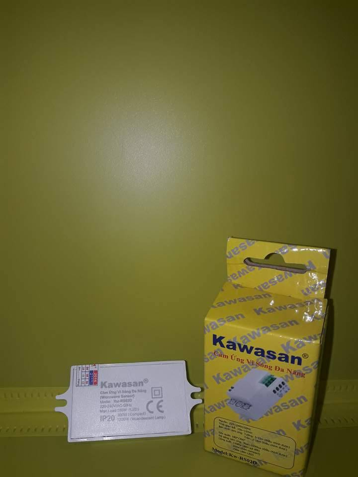 CÔNG TẮC CẢM ỨNG RADA VI SÓNG KW-RS02D