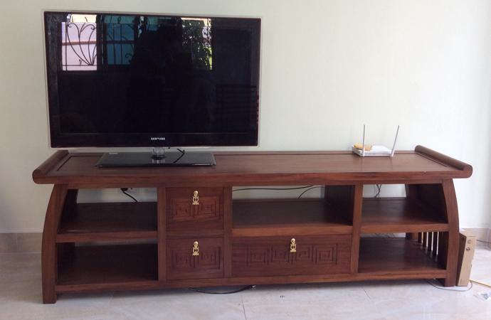 kệ tivi gỗ hương, gỗ gụ đẹp hiện đại