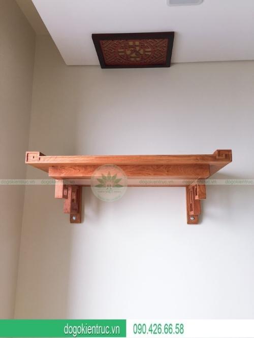 Bàn thờ treo gỗ hương cao cấp