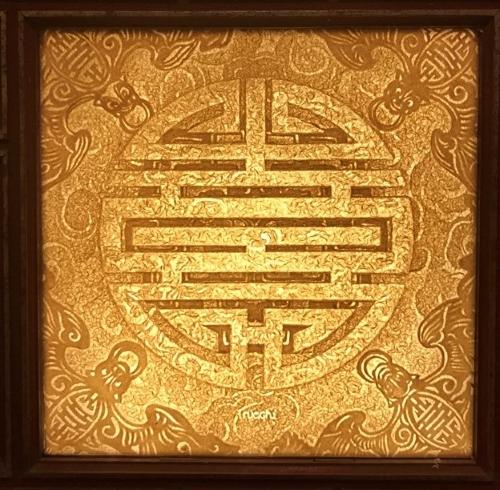 Tranh phòng thờ chữ Thọ