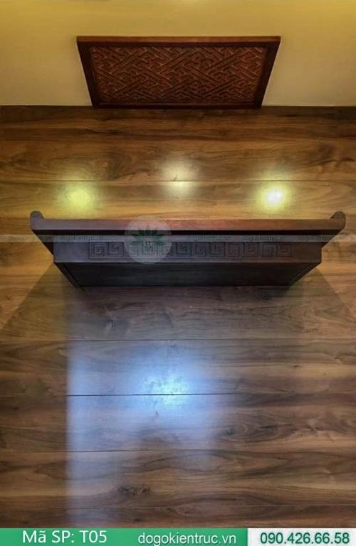 mẫu bàn thờ treo đơn giản