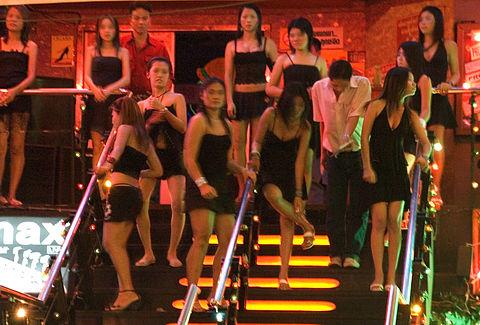 gái bán dâm ở Thái Lan