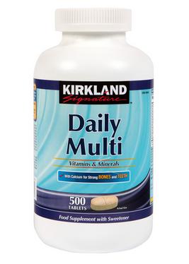 Kirkland Signature Daily Multivitamin bổ sung đầy đủ dưỡng chất cho cơ thể