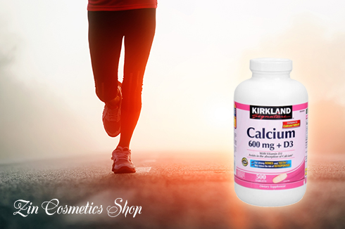 Thuốc Bổ Sung Canxi Kirkland Calcium 600mg + D3 3