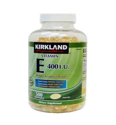 Kirkland Signature Vitamin E 400 IU