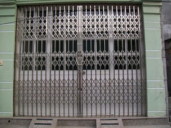 cửa kéo inox 304 không lá