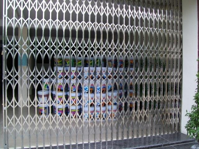 cửa kéo đài loan không lá