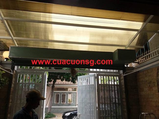 Hộp che cửa cuốn tôn mạ màu Đài Loan