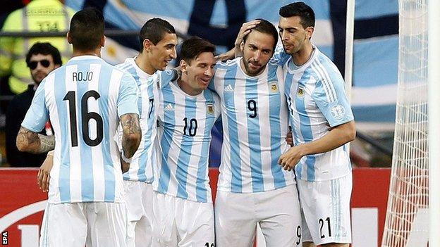 đội tuyển argentina sân nhà 2015 - 2016 - aothethao.net