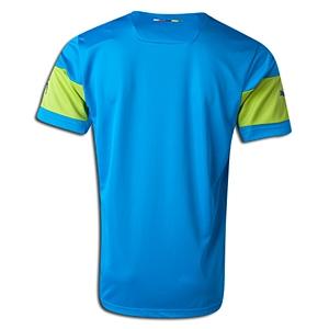 mặt sau áo bóng đá không logo puma 168 aothethao.net