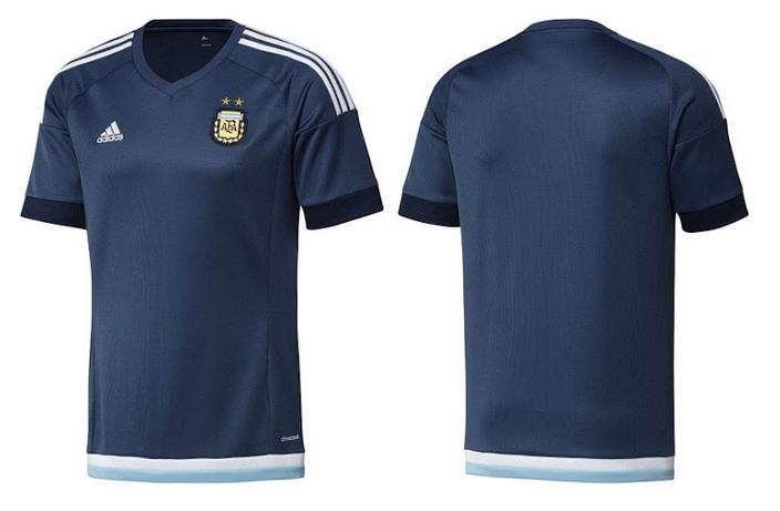 Áo Đội Tuyển Argentina sân khách 2015 - 2016 - aothethao.net