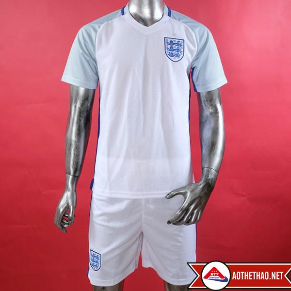 Mặt trước áo bóng đá đội tuyển quốc gia anh trắng