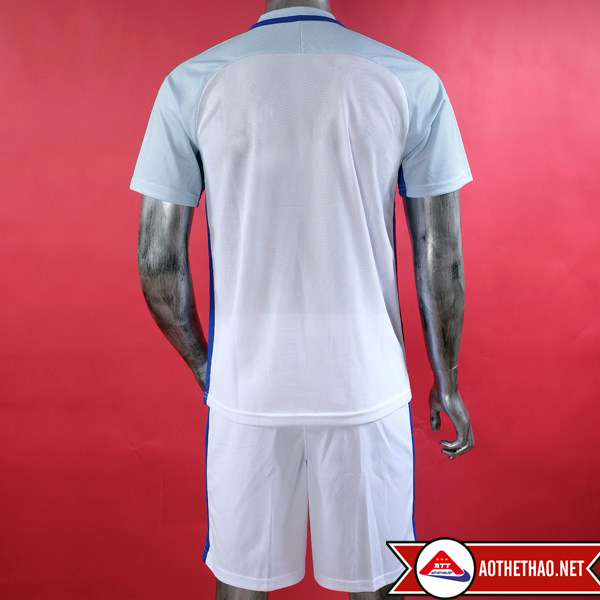 mặt sau áo bóng đá đội tuyển quốc gia anh trắng