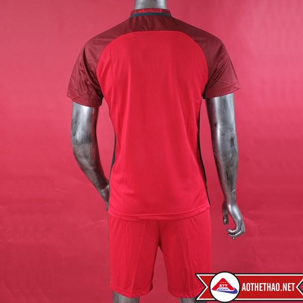 hình ảnh áo bóng đá bồ đào nha đỏ Euro 2016 tại aothethao.net